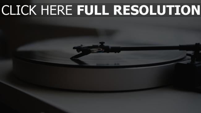 hd hintergrundbilder plattenspieler schallplatte vinyl