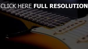 saiten gitarre hals