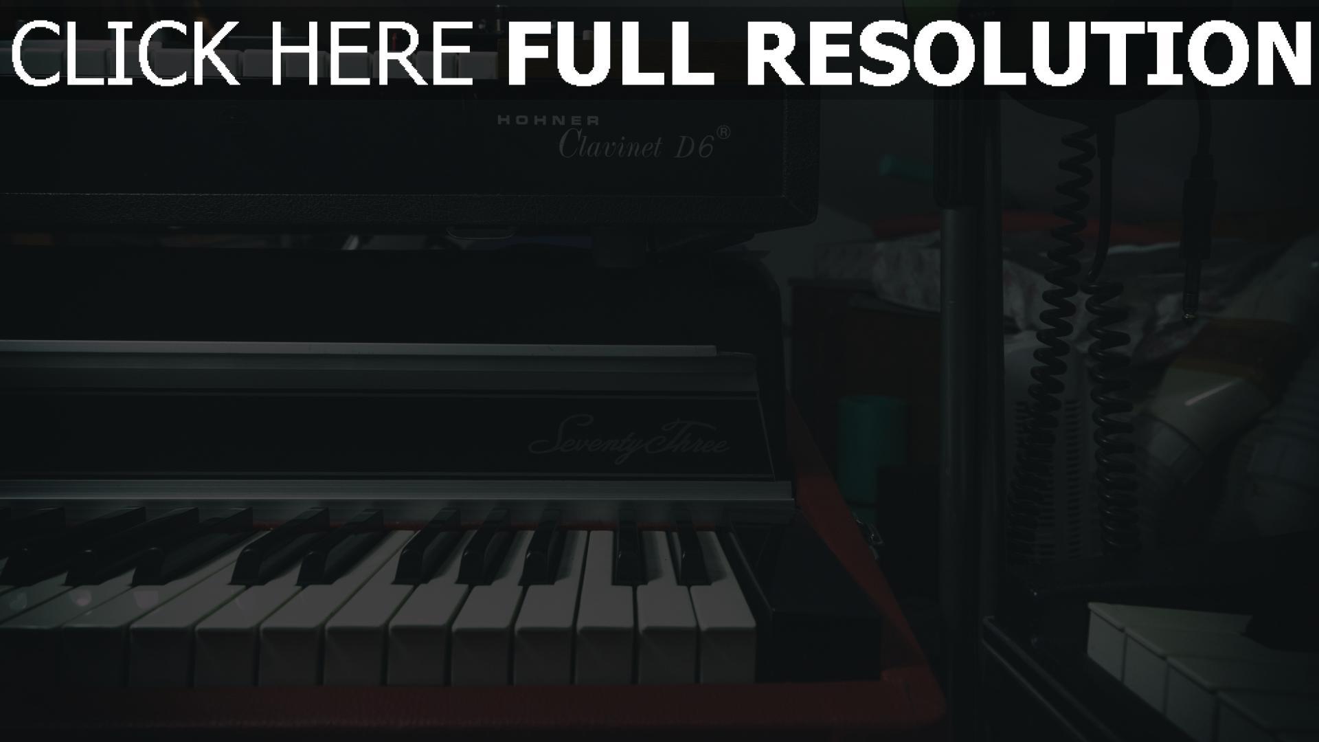 hd hintergrundbilder synthesizer musikinstrumente klavier 1920x1080