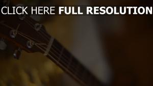gitarre saiten hals