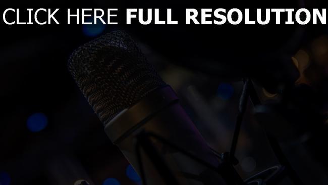hd hintergrundbilder audio ausrüstung mikrofon