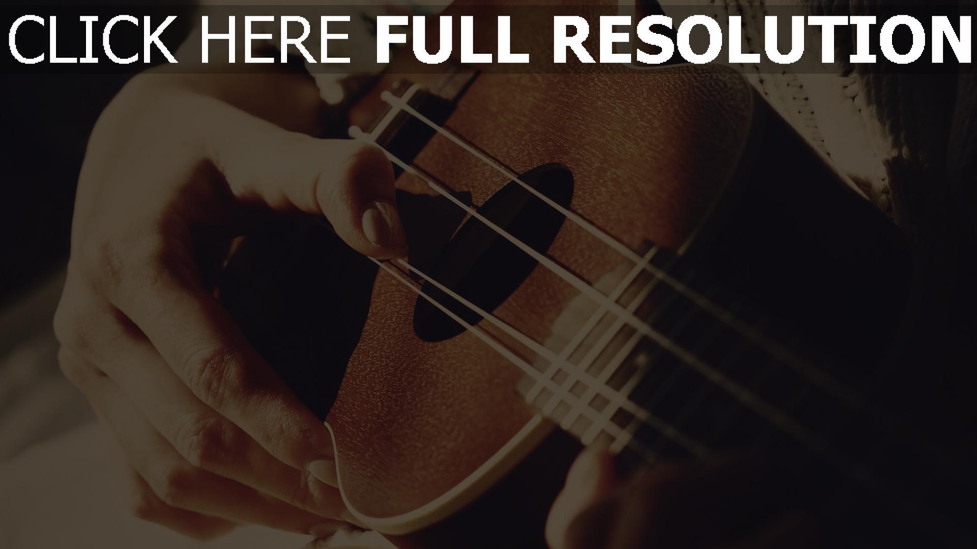 hd hintergrundbilder finger hände gitarre 1920x1080