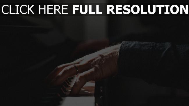 hd hintergrundbilder ring musik hände klavier