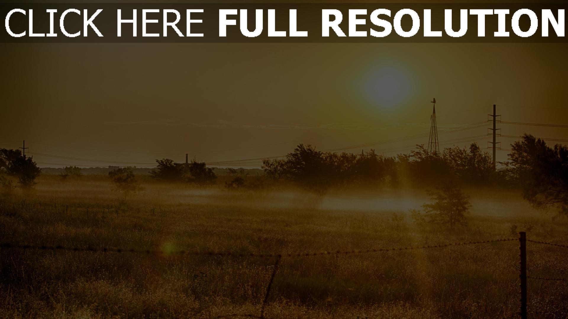hd hintergrundbilder sonne gras sommer licht wärme 1920x1080