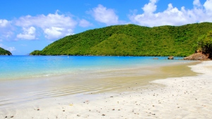 strand meer blau himmel sand berge