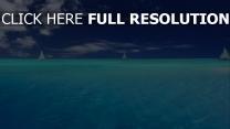 meer blau himmel segeln yacht