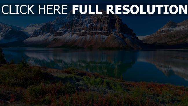 HD Hintergrundbilder sommer berge fluss felsen reflexion ... Hd Wallpapers 1920x1080 Nature