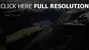 felsen schlucht fluss ridge mountains