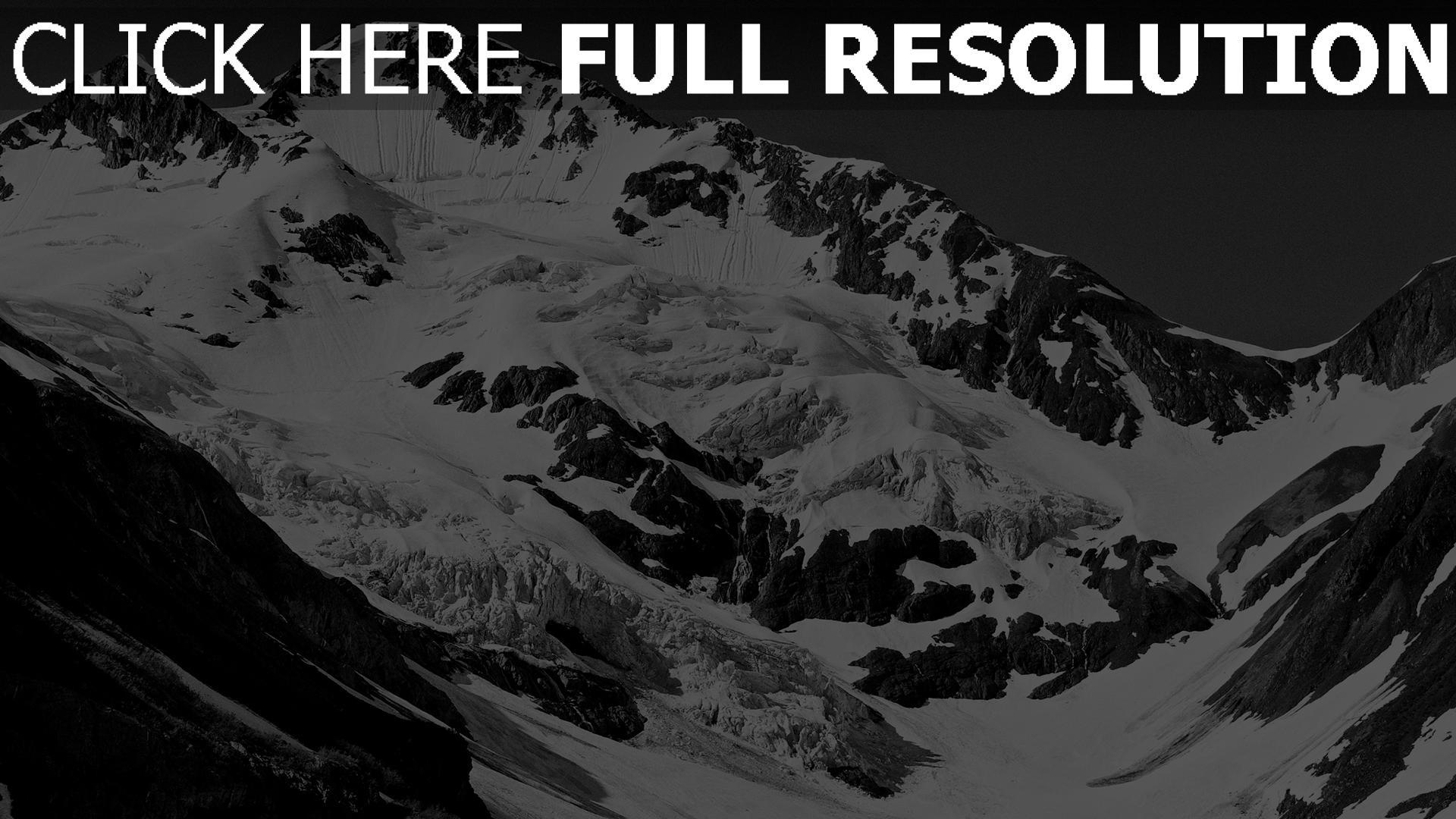 Hd Hintergrundbilder Berge Schnee Felsen Winter Schlucht Desktop
