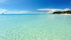 meer wasser blau horizont sommer