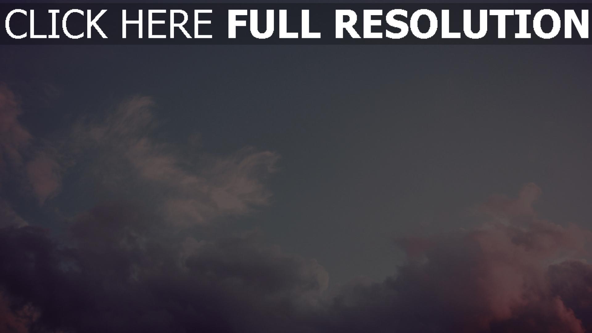 Hd Hintergrundbilder Wolken Rosa Lila Himmel Desktop Hintergrund