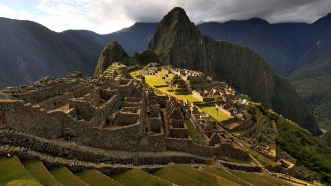 hd hintergrundbilder ruinen gebäude stadt berg höhe