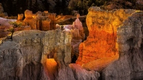 schlucht klippe canyon utah usa