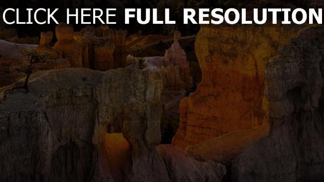 hd hintergrundbilder schlucht klippe canyon utah usa