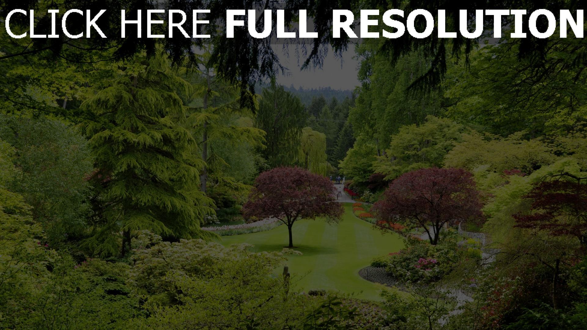 Hd Hintergrundbilder Park Bäume Garten Teich Kanada Desktop Hintergrund