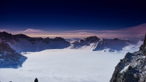 winter schnee berge china himmel