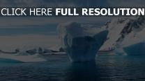 eis winter eisberg antarktis