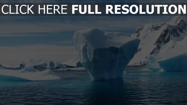 hd hintergrundbilder eis winter eisberg antarktis