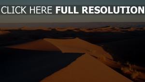sand wüste ebenen afrika marokko