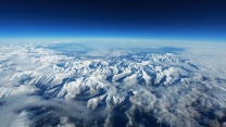 berge schnee gipfel himmel hohe pyrenäen
