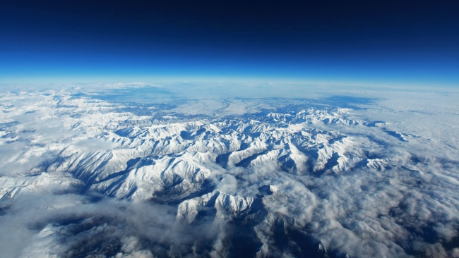hd hintergrundbilder berge schnee gipfel himmel hohe pyrenäen