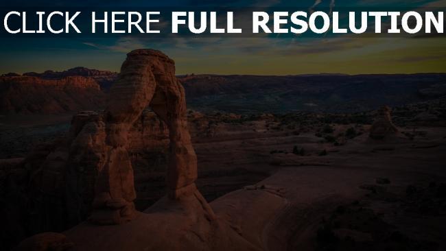 hd hintergrundbilder felsen steine bogen himmel berge