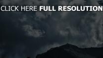 himmel berge wolken
