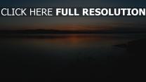 horizont äste sonnenuntergang küste