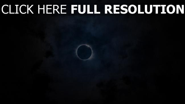 hd hintergrundbilder mond eklipse wolken himmel