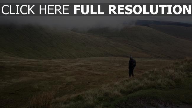 hd hintergrundbilder mann weg feld gras