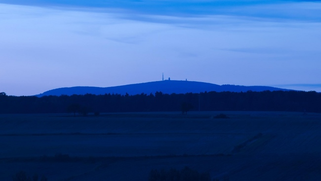 hd hintergrundbilder himmel blau abend