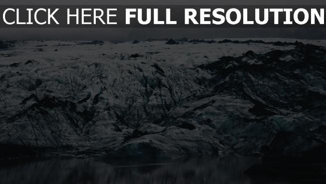 hd hintergrundbilder eis island ufer eisschollen