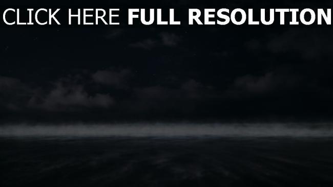 hd hintergrundbilder bewölkt nebel horizont himmel
