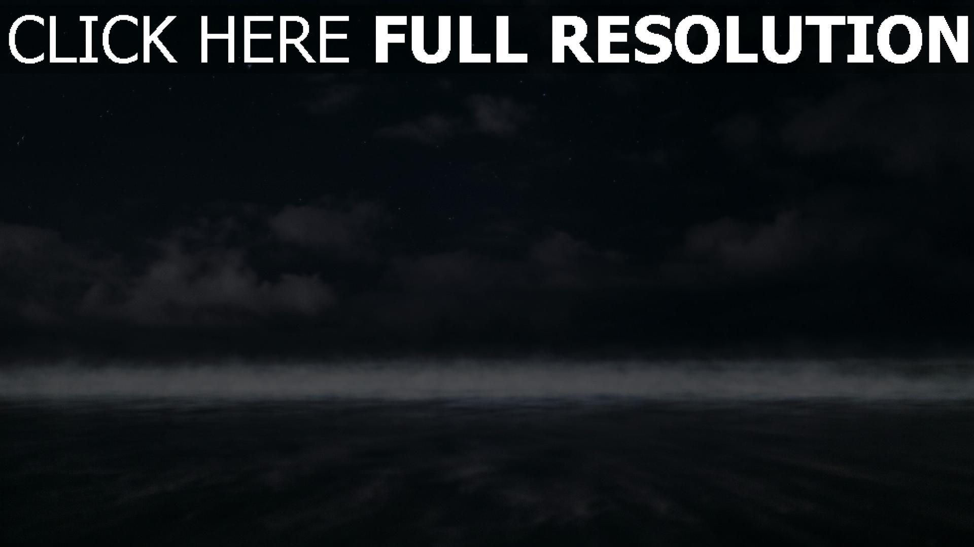 hd hintergrundbilder bewölkt nebel horizont himmel 1920x1080