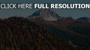 berge herbst bäume