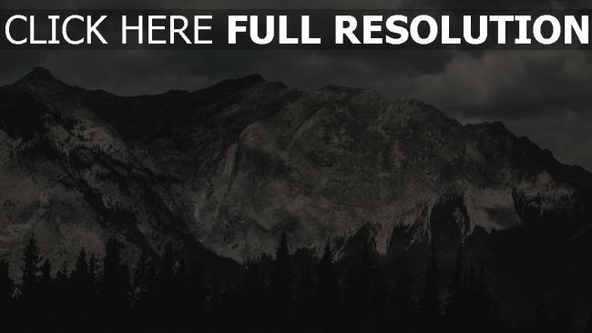 hd hintergrundbilder ansicht von oben himmel berge