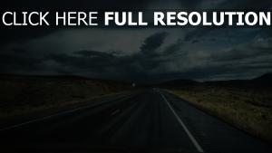weg verkehr auto wolken