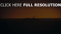 schiff sonnenuntergang schwimmen horizont