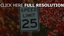 herbst geschwindigkeit zeichen einschränkung