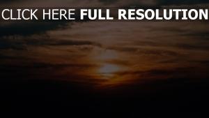 sonnenuntergang wolken himmel bewölkt