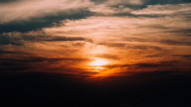 hd hintergrundbilder sonnenuntergang wolken himmel bewölkt