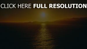 himmel meer sonnenuntergang