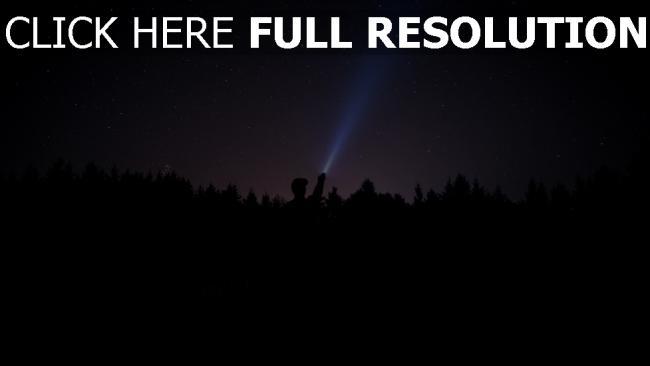 hd hintergrundbilder mann nacht licht sternenhimmel sterne