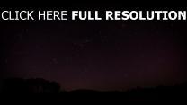 nacht sternenhimmel himmel sterne