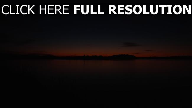 hd hintergrundbilder himmel bäume skyline sonnenuntergang