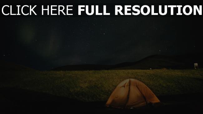 hd hintergrundbilder nacht sternenhimmel zelt