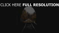 herbst tunnel eisenbahn
