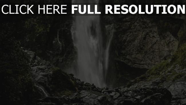 hd hintergrundbilder strom wasserfall steine