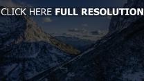 schnee alpen berge