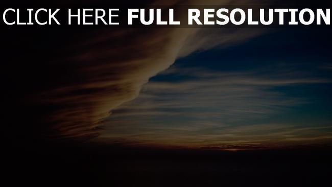 hd hintergrundbilder nacht himmel bewölkt wolken